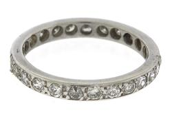 Vintage Diamond Eternity Band Ring