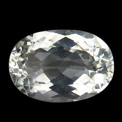 High fire VVS 5.53ct untreated diamond white Beryl