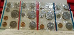 1974 and 1977 Uncirculated Mint Sets