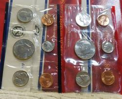 3 each 1987 Uncirculated Mint Sets  P and D
