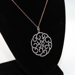 Designer Medallion Necklace