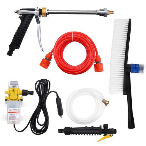 12V High Pressure Electric Washer Wash Pump Set