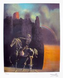 Salvador Dali, Horseman Of Death