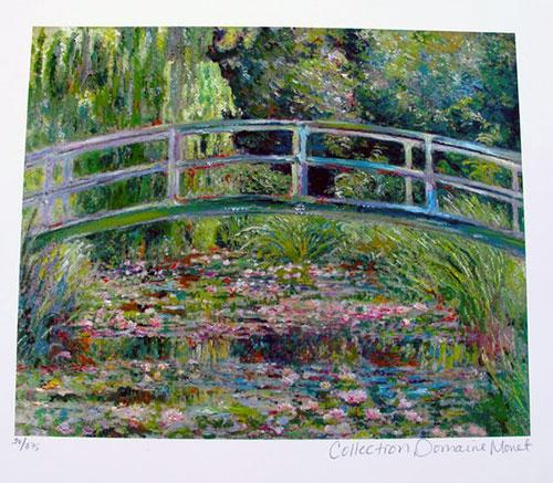 Claude Monet, Japanese Bridge