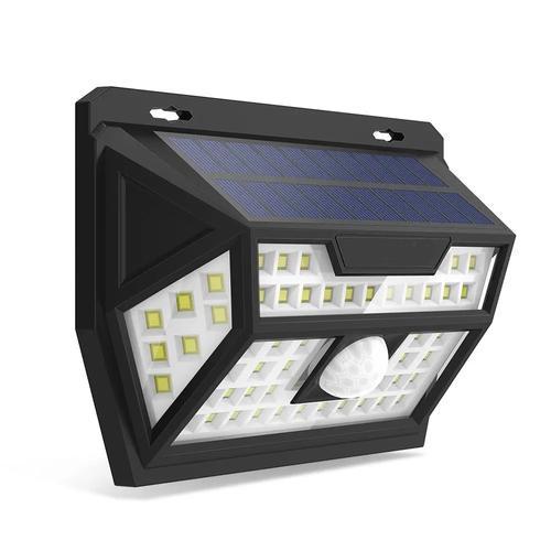 Solar Power 62 LED PIR Motion Sensor Wall Light