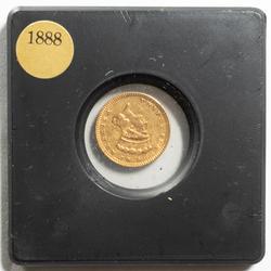 Scarce 1888 US Type 3 $1 Gold