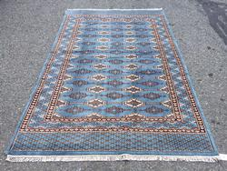 Lustrous Exceptionally Fine Super Quality Bokhara Rug