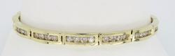 3.00 Carat Channel Set Diamond Bracelet