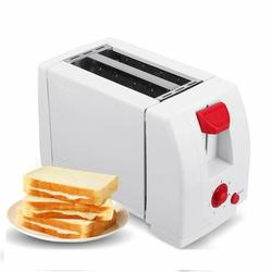 2 Slices Electric Automatic Toaster with Crumb Tray