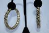 Golden Color Sexy Hoop Earrings