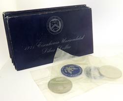 12 1971 S  Ike Silver Blue Dollar Uncs