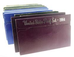 1969-1973 1975 -7 1979-1985- US Proof Sets