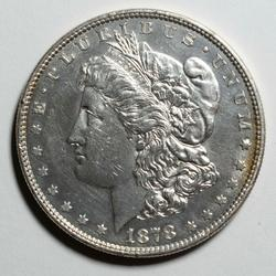 1878 8 Tail Feathers BU Morgan Dollar