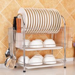 3 Tier Kitchen Dish Rack Drainer