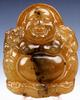 Jade Carved Old NephriteLaughing Buddha Pendant