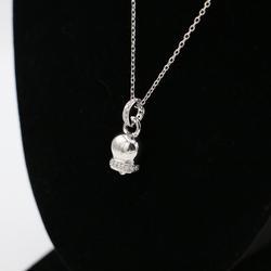 Fashionable Designer Sterling Silver Pendant Necklace