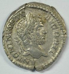 Great Caracalla Roman Silver Denarius, 198-217 AD