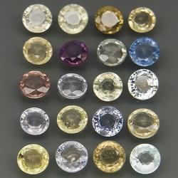 Vibrant unheated 10.73ct fancy Sapphire set