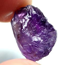 Large 15.94ct untreated uncut Amethyst