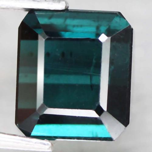 Deep blue 3.11ct untreated Indicolite Tourmaline