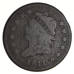 1811 Classic Head Large Cent - Circulated