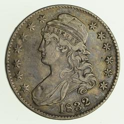 1832 Capped Bust Half Dollar - Circulated