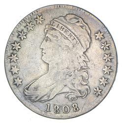 1808 Capped Bust Half Dollar - O-102 - Circulated