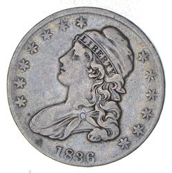 1836 Capped Bust Half Dollar - Circulated