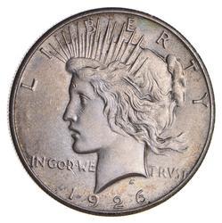 1926 Peace Silver Dollar - Uncirculated