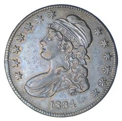 1834 Capped Bust Half Dollar - SD/SL - Near Uncirculated