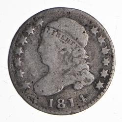 1914 Capped Bust Dime - JR5 - Circulated