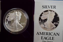 1988 Proof Silver Eagle OGP