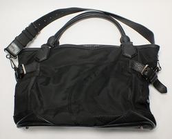 Burberry canvas black leather purse