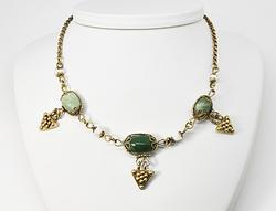 Enchanting Multi-Stone Silver Necklace