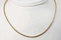 Exceptional Byzantine Watch Chain/Necklace in 18K