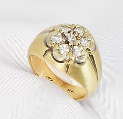 Appealing .5 Ct. TW Diamond Ring in 14K