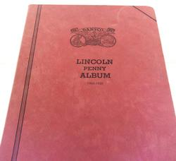 1909-1929 Part Lincoln Cent Set Original Dansko Album
