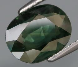 Gorgeous 2.66ct hunter green Sapphire