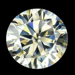 Substantial 3.64ct diamond white Moissanite solitaire