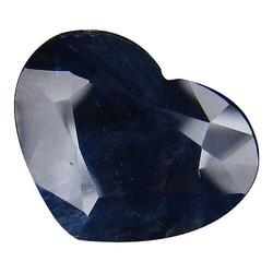 Shimmering 4.53ct heated only heart cut Sapphire
