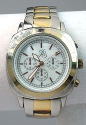 JS Two Tone Watch