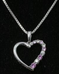 Heart Pendant on a 14KT Gold Chain