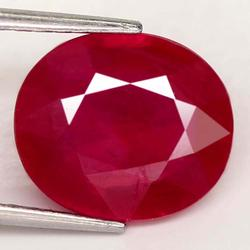 Sumptuous 6.03ct top blood red Ruby