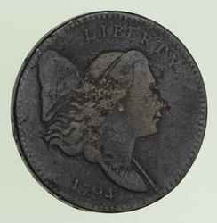 1794 Liberty Cap Half-Cent - Circulated