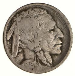 1913-D Buffalo Indian Head Nickel - Circulated