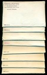 8 1965 Special Mint Sets in Original Envelopes