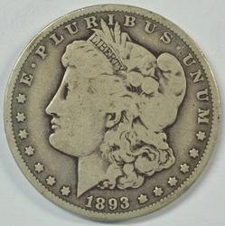 Rare key date 1893-O Morgan Silver Dollar