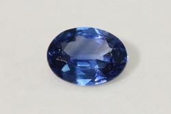 Royal Blue Natural Sapphire - 0.85 ct.