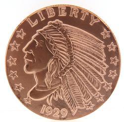 Copper 1929 5 oz Liberty