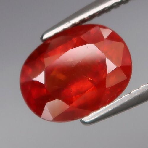 Amazing top red orange 3.55ct Namibian Garnet